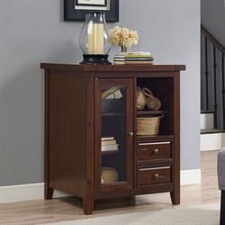 Bailey Accent Cabinet Rich Mahogany