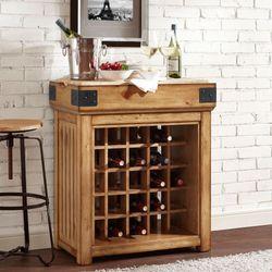 Brendalynn Wooden Wine Storage Cabinet