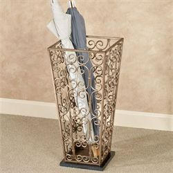 Fidenza Umbrella Stand Antique Gold