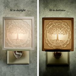 Tree of Life Nightlight Light Cream