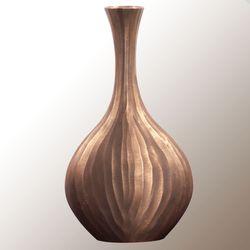 Nolan Chiseled Vase Copper