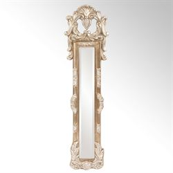 Thackery Wall Mirror Panel Antique Silver