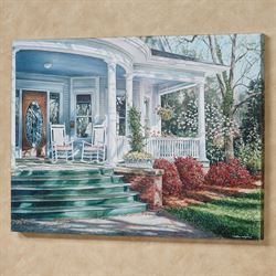 Front Porch Serenity Canvas Wall Art Multi Earth