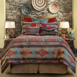 El Paso Comforter Set Multi Warm