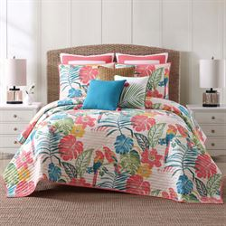 Coco Paradise Quilt Set Multi Bright
