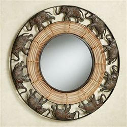 Elephant Parade Wall Mirror Multi Earth
