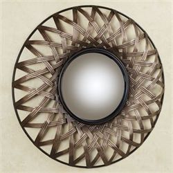 Stark Mirrored Wall Art Beige Brown