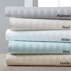 Luxury Estate Stripe Sheet Set