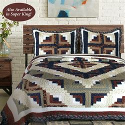 Colorado Cabin Quilt Multi Warm