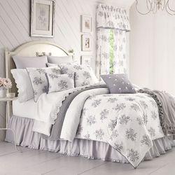 Sabrina Comforter Set Gray