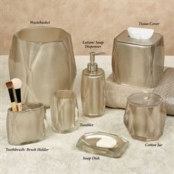 Fiore Lotion Soap Dispenser Light Taupe