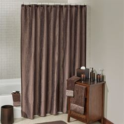 Veruka Shower Curtain Bronze 70 x 72