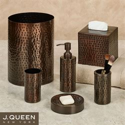 'Pressed Metal Lotion Soap Dispenser Oil Rubbed Bronze' from the web at 'https://www.touchofclass.com/images/ml/W411-001.jpg'