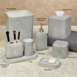 Shagreen Lotion Soap Dispenser Gray