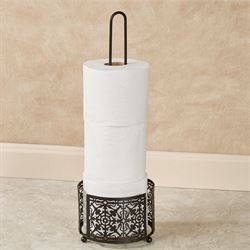 Lace Toilet Tissue Holder