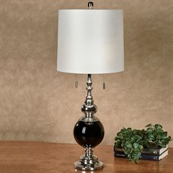 Jargis Table Lamp Polished Chrome