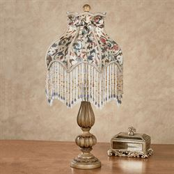 Matilda Jane Table Lamp Multi Jewel