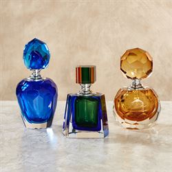 Dominique Perfume Bottles Multi Cool Set of Three