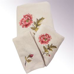 Daphne Bath Towel Set Natural Bath Hand Fingertip