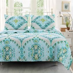 Cascade Quilt Set Multi Cool