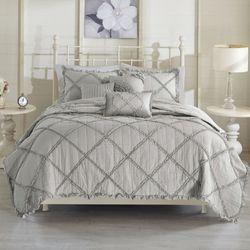 Rosie Coverlet Bed Set Gray