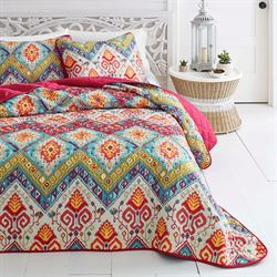 Moroccan Nights Quilt Set Multi Bright