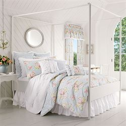 Stella Comforter Set Pale Blue