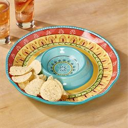 Valencia Chip and Dip Server Multi Jewel