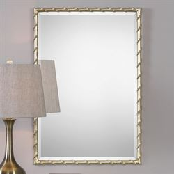 Laden Wall Mirror Antique Silver
