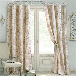 Anneli Tie Tab Top Curtain Panel