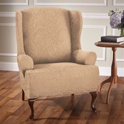 Botanical Bliss Slipcover Wing Chair
