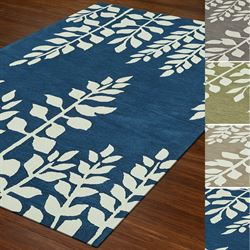 Weeping Fern Rectangle Rug