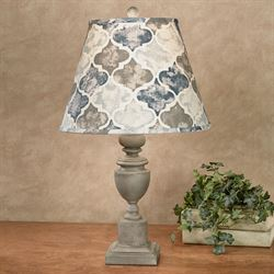 Abree Table Lamp Gray