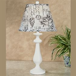Cariana Coast Table Lamp Antique White