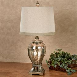 Hemlock Table Lamp Aged Gold