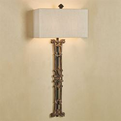 Ceiling wall lighting floor lamps touch of class matriarch wall lamp antique bronze aloadofball Image collections