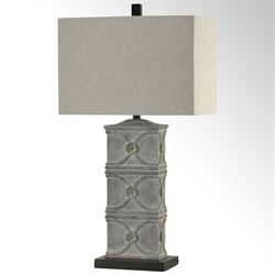 Mangum Table Lamp Slate Gray