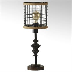 Minic Mini Table Lamp Antique Black