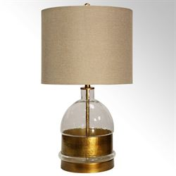 Mingle Table Lamp Old World Gold