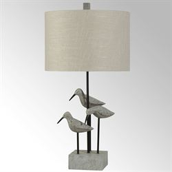 Jack Snipe Table Lamp Slate Gray