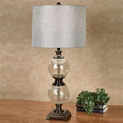Marseille Table Lamp Gun Metal