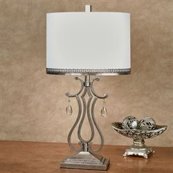 Racine Table Lamp Silver