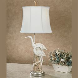 Stassi Shore Table Lamp Antique White