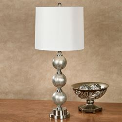 Naomi Table Lamp Silver