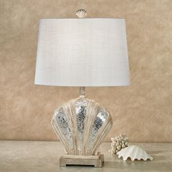 Dawson Shell Table Lamp Natural