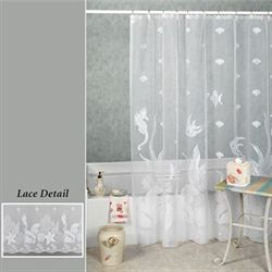 Seascape Shower Curtain  72 x 72