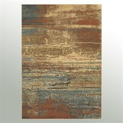 Voyager Rectangle Rug Multi Earth