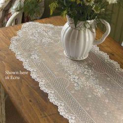 Floret Lace Table Runner