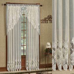 Timberland Lace Curtain Panel