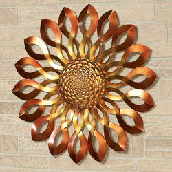 Infinity Sun Wall Art Bronze